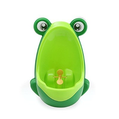 Cute Pp Frog Potty Training Urinal for Boys Pee (Green) by Babyyuga