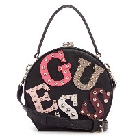【SALE 30%OFF】ゲス GUESS LIZZY ROUND CASE (BLACK) レディース