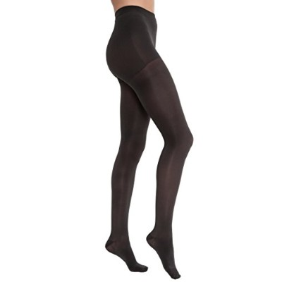 Jobst 115157 Opaque Pantyhose 20-30 mmHg Firm Support - Size & Color- Classic Black Medium