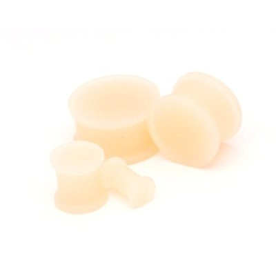 シリコンプラグRetainers – Extra Light – 0 G – 8 mm – Sold As Aペア