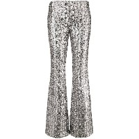 Michael Kors Collection glitter effect flared trousers - メタリック