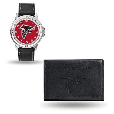 NFL Atlanta FalconsレザーWatch /財布セットby Rico Industries