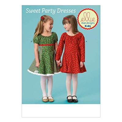 KWIK-SEW PATTERNS K0185 Girls' Dresses, All Sizes by KWIK-SEW PATTERNS