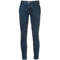 J Brand button detail skinny jeans - ブルー