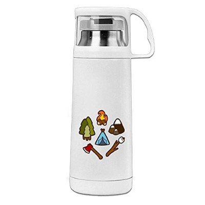 Kkajjhd Camping Is Cool Vacuum Insulated Stainless Steel Water Bottle