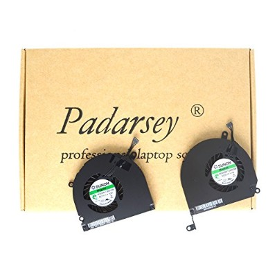 Padarsey A1286 Left+right Side CPU Cooling Fan 2008 2009 2010 2011 2012 Compatible for Macbook Pro...