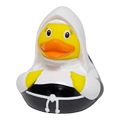 DUCKSHOP | Nun Rubber Duck | Bathduck | L: 8,5 cm by Duckshop