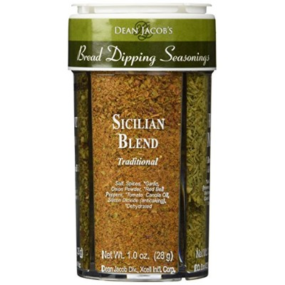 Bread Dipping Seasonings - Dean Jacob's 4 Spice Variety Pack by Dean Jacob's