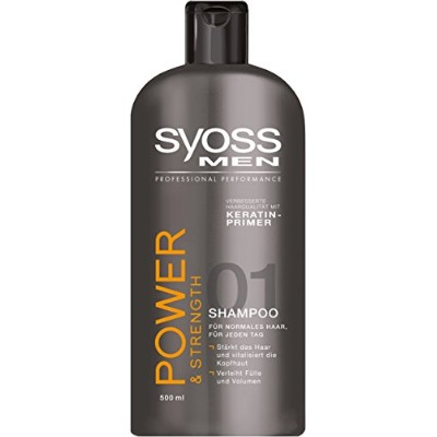 Syoss Men Power & Strength Shampoo 500 ml