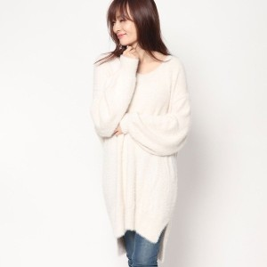 【SALE 70%OFF】ルーミィーズ Roomy's OUTLET シャギーOP (ベージュ)