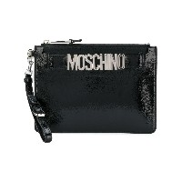 Moschino clutch bag - ブラック