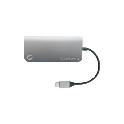 TUNEWEAR ALMIGHTY DOCK C2 0.12m[USB-Cオス→メス SD/microSD/HDMI/Mini DisplayPort/LAN/USB-Ax2/USB-Cx1]TUN...