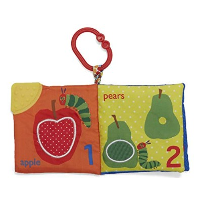 Kids Preferred Fun Foods Teether Soft Book, The Very Hungry Caterpillar
