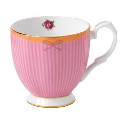 Royal Albert Candy Vintage Mug Sweet Stripe, 10.5 oz by Royal Albert