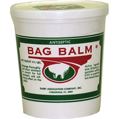 Dairy Association Bag-Balm Vermonts Original Moisturizing and Softening Ointment Pail for Pets by...
