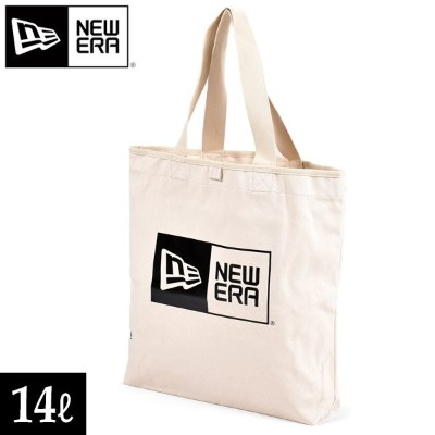 トートバッグ NEW ERA ニューエラ 11783339 CANVAS TOTE BAG BOX LOGO FFF I1