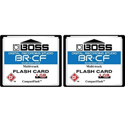 3- Pack 1GBボスRoland br-cfコンパクトフラッシュCFメモリカードfor br-600、br-864、br-900cd、mc-808 2Pack