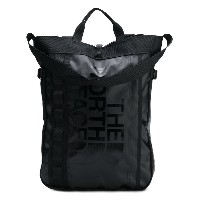 The North Face printed logo backpack - ブラック