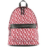 Ports V two tone backpack - レッド