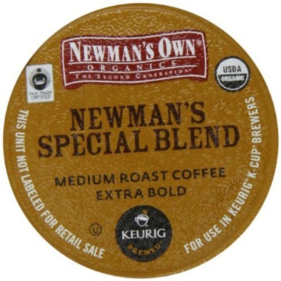 Newman's Own Special Blend (Extra Bold) K-cups for Keurig Brewing Systems, 24 Count by Newman's Own