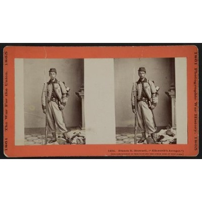 Photo :フォトのStereograph、フランシスE。Brownell、Ellsworth 's Avenger、American Civil War