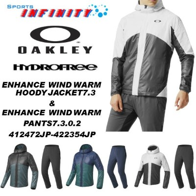 【30%OFF】【返品・交換不可】OAKLEY(オークリー)! 『ENHANCE WIND WARM HOODY JACKET 7.3&ENHANCE WIND WARM PANTS 7.3.02...