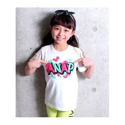 【SALE/50%OFF】ANAPKIDS ANAPKIDSグラフィティプリントT アナップ カットソー【RBA_S】【RBA_E】