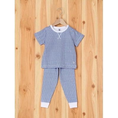 PETIT BATEAU (K)exclusive チュビックパジャマ プチバトー カットソー【送料無料】