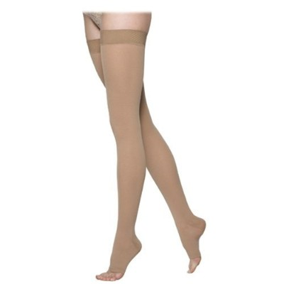 Sigvaris 862NL1O66 860 Select Comfort Series 20-30 mmHg Open Toe Unisex Thigh Highs - 862N - Size...