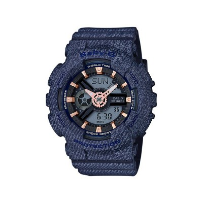 G-SHOCK/BABY-G/PRO TREK BABY-G/(L)BA-110DE-2A1JF/DENIM D COLOR カシオ ファッショングッズ【送料無料】