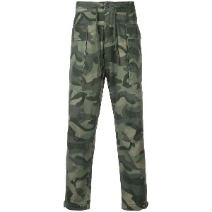 Osklen camouflage print trousers - グリーン