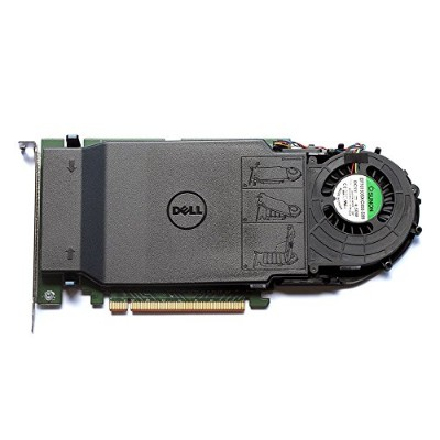 Dell ultra-speedドライブクアッドNVMe M。2 PCIe x16カード Adapter only 80G5N