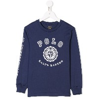 Ralph Lauren Kids Polo sweatshirt - ブルー