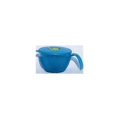 Limited Edition Tupperware Vent N Serve Mug in Peacock