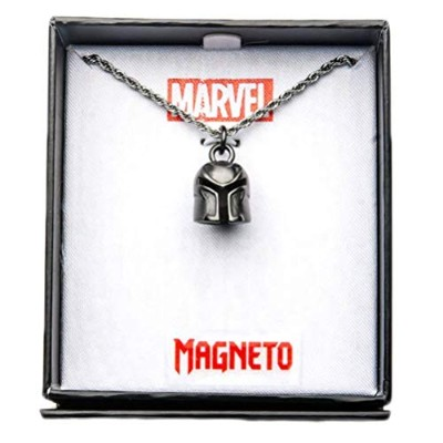 Official Licensed Marvel Magneto 3dヘルメットペンダントネックレス