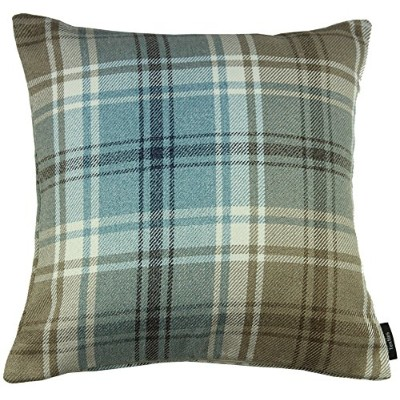 """McAlister Textiles Angus Pillow Covers 22 x 22"""" ブルー 201607260122"""