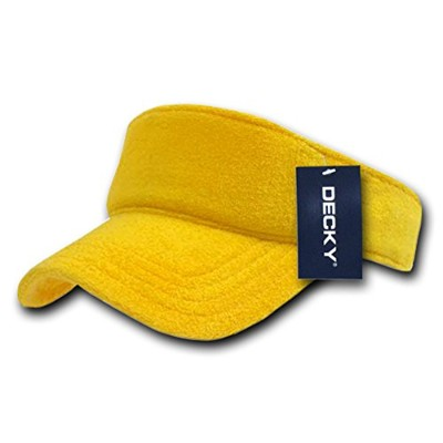 Decky 996-YEL Terry Visor, Yellow