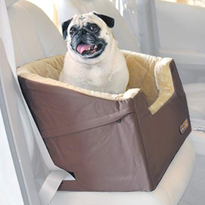 K&H Bucket Booster Pet Car Seat, Small, Tan by K&H Manufacturing