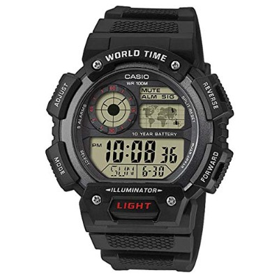 Montre Casio noire digitale AE-1400WH-1AVEF