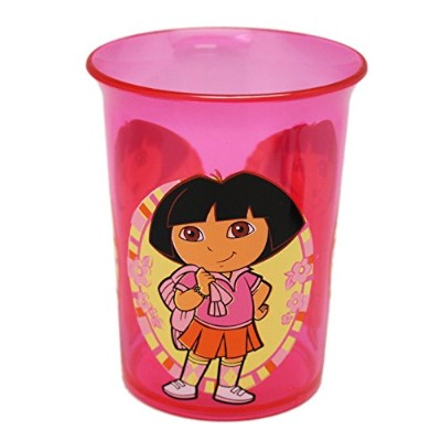 ニック・Jr 's Dora The Explorer Dora Back to SchoolハードプラスチックKids Cup