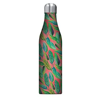 (Botanicals on Blush (Large)) - Studio Oh 740ml Insulated Stainless Steel Water Bottle Available in...