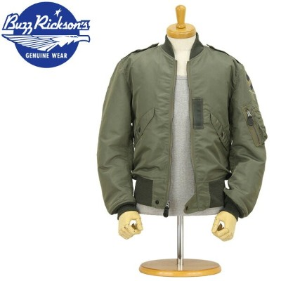 "■ BUZZ RICKSON'S (バズリクソンズ) [BR11132]☆ FLYING JACKET L-2B ☆""TOPS APPAREL MFG, CO.,INC.""1957MODEL ..."