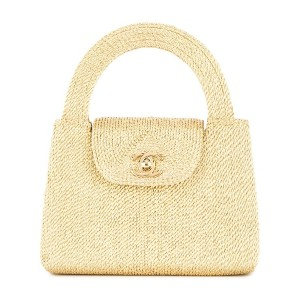 Chanel Pre-Owned CC ハンドバッグ - メタリック