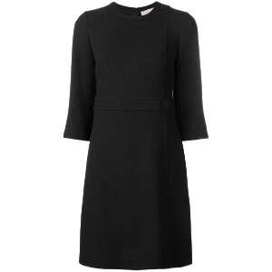 L'Autre Chose flared midi dress - ブラック
