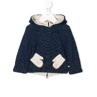 Oeuf monster knitted sweater - ブルー