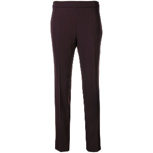 Moschino tailored trousers - ピンク&パープル