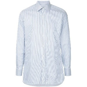Gieves & Hawkes striped shirt - ホワイト