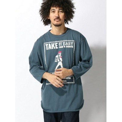 gym master gym master/(M)TAKE IT EASY 7分袖Tee ジムマスター カットソー【送料無料】