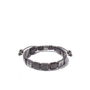 Shamballa Jewels 18kt white gold, grey sapphire and black diamond Lock