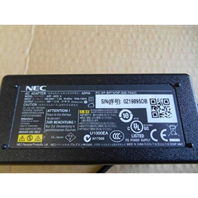 NEC 純正ACアダプター ADP88/ADP-40ED A/PC-VP-BP74/OP-520-76423